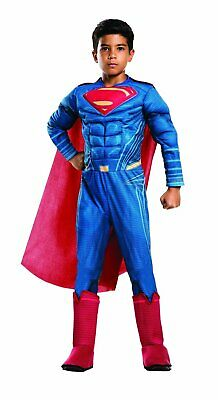 Superman Costume For Boys (Superman Child boys Halloween Costume size M)