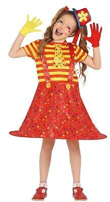 Mädchen Big Top Clown Gepunktet Zirkus Karneval Performer - Big Top Kostüme