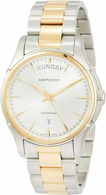 Hamilton-Men-H32595151-Jazzmaster-40mm-Silver-White-Stainless-Steel-Watch