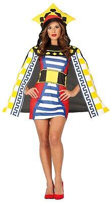 Damen Spielkarte Queen Casino Vegas Henne Do Nacht - Queen Karte Kostüm