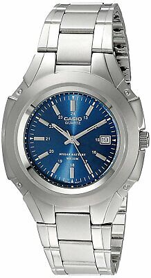 Casio MTP-3050D Original New Analog Stainless Steel Mens Watch Date