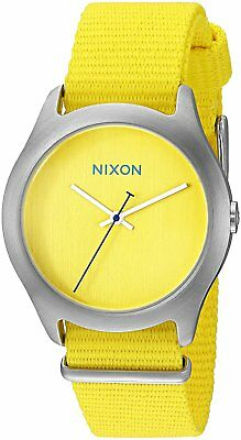 Nixon Women's A348-1599-00 Mod 38mm Bright Yellow Watch A3481599