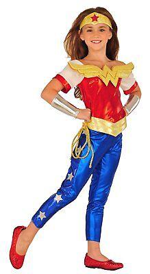 Wonder Woman Dc Super Hero Girls Child 4 Costume
