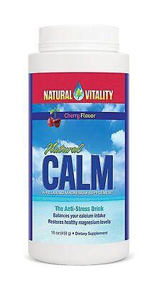 Peter Gillham Natural Calm Magnesium - Powder - 16 Oz - Cherry