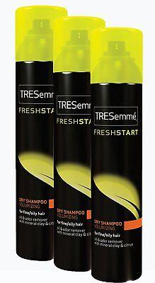 3 TRESemme Dry Shampoo Fresh Start Volumizing fine oily hair Professional 5.7 -