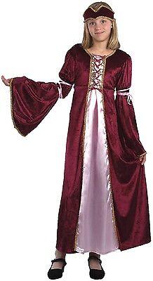Mädchen Renaissance Prinzessin Maiden Büchertag Kostüm Kleid Outfit - Renaissance Kostüme Männlich