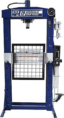 40000 Lb Steel H-frame Hydraulic Garageshopfloorpresswithhandand Footpumppedal
