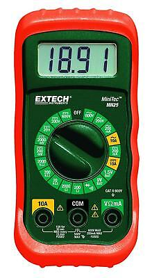 Wholesale Lot Of 12 - Extech Mn25 Minitec Digital Multimeter