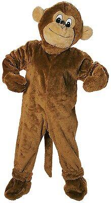 Donna Uomo Professionale Grande Scimmia Portafortuna Animale Costume Vestito