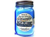 High Octane 16oz Country Jar Handmade Soy Candle -