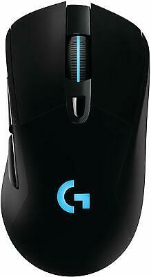 Logitech G703 LIGHTSPEED Wireless Gaming Mouse, RGB Lighting (Black)