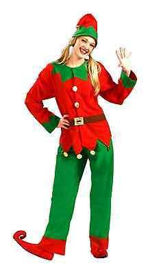 Simply Elf Santa's Helper Adult Unisex Holiday Costume Size Xl (x-large)