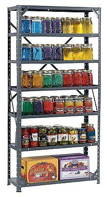 Heavy Duty Metal Steel 7 Shelf Shelving Garage Storage Organizer Bestproduct New