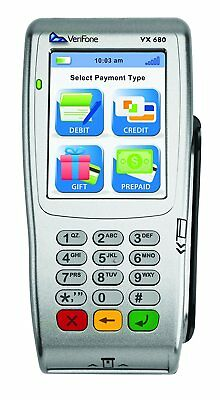 Verifone Vx 680 Unlockedfree Shipping