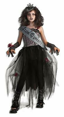 Rubie's Deluxe Goth Prom Queen Costume - Small (4-6) Halloween Fancy Dress NEW - Prom Queen Halloween Fancy Dress