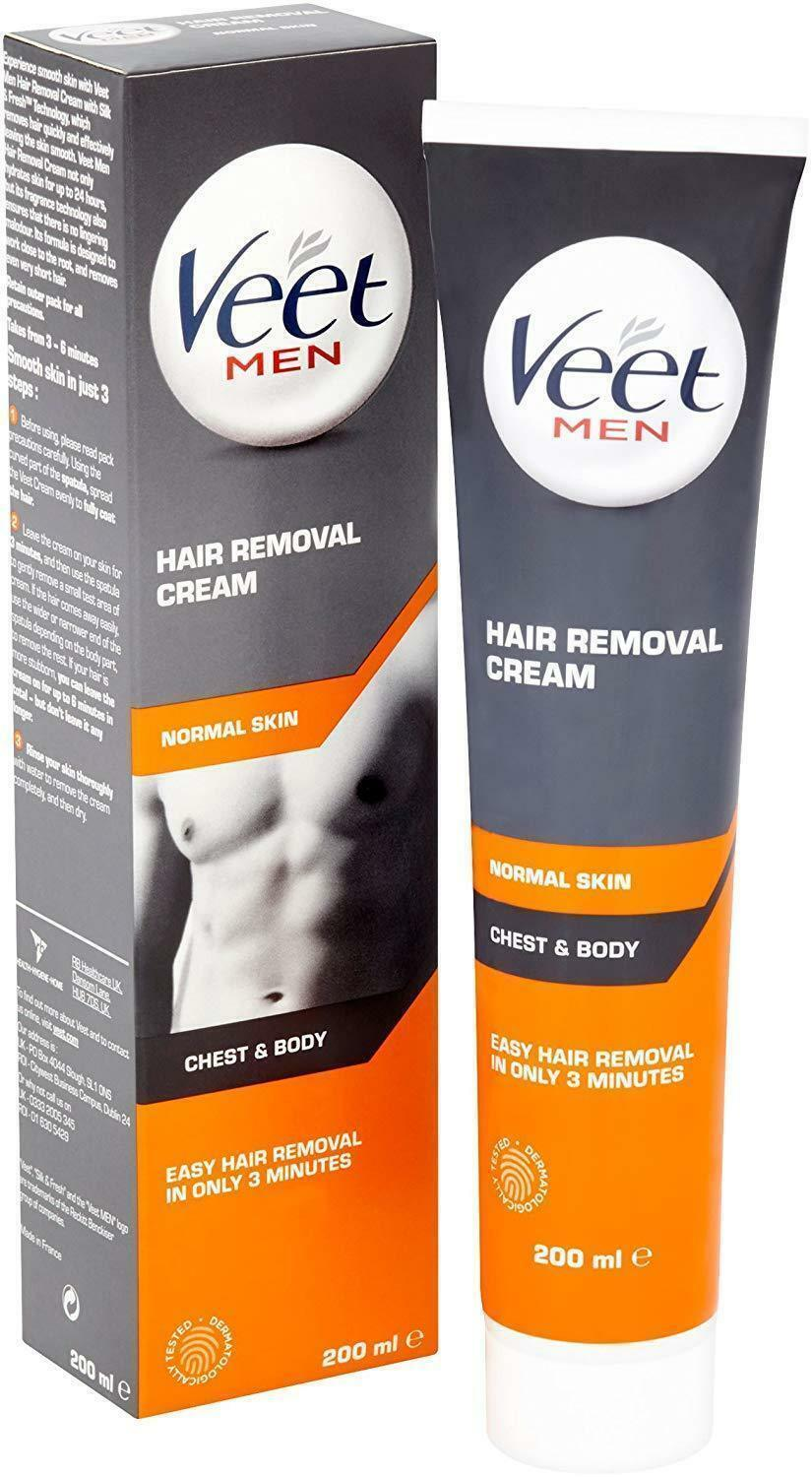Veet Men Hair Removal Cream 200 Ml 5011417561980 Ebay