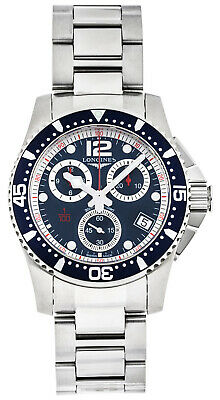 Longines HydroConquest Blue Dial Chronograph Men Watch L37434966 / L3.743.4.96.6