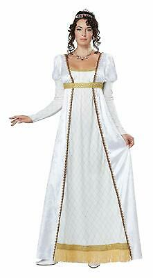 Josephine French Empress Renaissance Girl Fancy Dress Halloween Adult Costume - French Girl Costumes