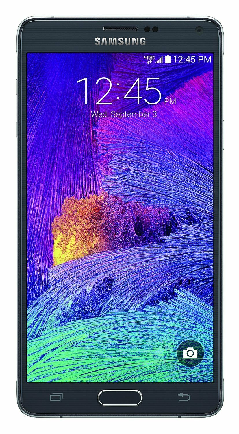"Android Phone - ""NEW"" Samsung Galaxy Note 4 N910A AT&T 4G GSM UNLOCKED Android Phone 32GB Black"