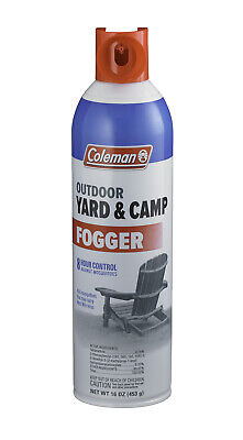 Coleman Yard & Camp Fogger 16 oz. Aerosol Insect Repellent for Camping 7707 NEW