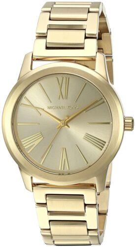 Michael Kors Women's MK3490 Hartman Gold-Tone Ladies Watch MK3490