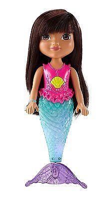 Dora Friends Sparkle and Swim Mermaid Dora Doll