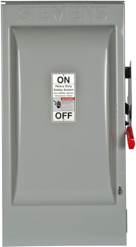 Siemens HNF364R 200-Amp 3 Pole 600-volt 3 Wire Non-Fused Heavy Duty Safety Switc