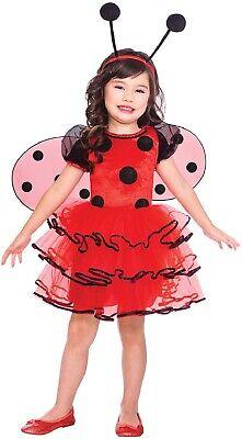 Mädchen Kleinkind Marienkäfer Tier Insekten Büchertag Kostüm Kleid Outfit