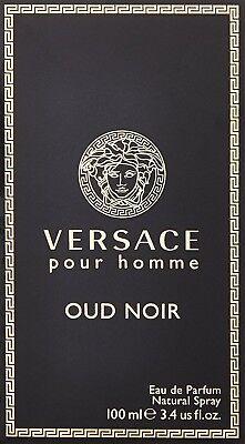 Versace Pour Homme Oud Noir 100ml Eau de Parfum Spray For Men