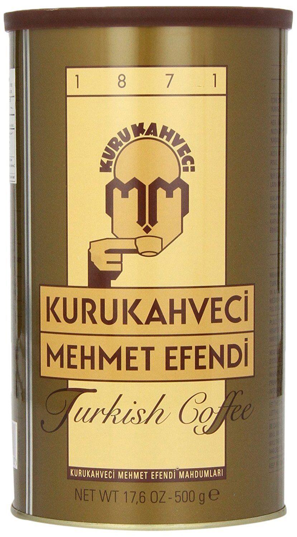 Turco Moka Caffè 500 G Von Kurukahveci Mehmet Efendi Finemente Macinati Kahve