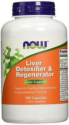 Now Foods Liver Detoxifier   Regenerator   180 Capsules