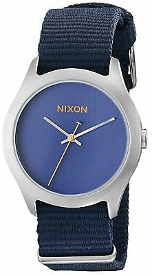 Nixon Women's A348-307-00 Mod 38mm Navy Watch A348307