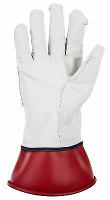 Sas 6468 Leather Protector Gloves Rubber Insulating Protection Size L
