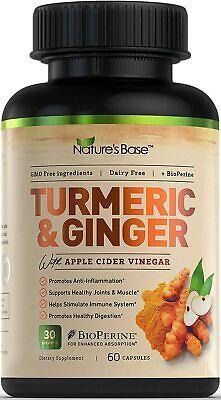 Turmeric Curcumin with Ginger & Bioperine Best Vegan Join Pain