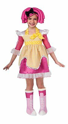 Rubies Costume Co (Canada) Lalaloopsy Deluxe Crumbs Sugar Cookie Costume Toddler - Toddler Halloween Costume Canada