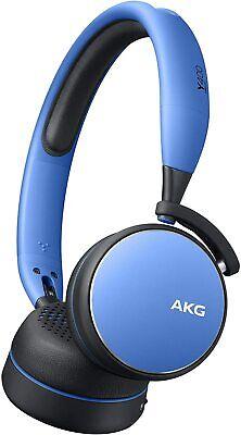 Brand new AKG Y400 Wireless On-Ear Headset - Blue on...