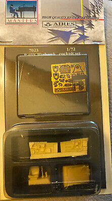 AIRES 1/72 7023 P-40N Warhawk Cockpit Detail kit for HASEGAWA kits Resin PE
