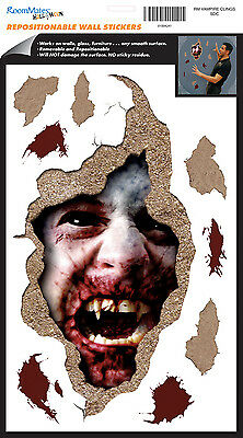 BLOODY VAMPIRE Wall Decals Halloween Party Decor Room Decor Stickers Decorations - Halloween Wall Decorations