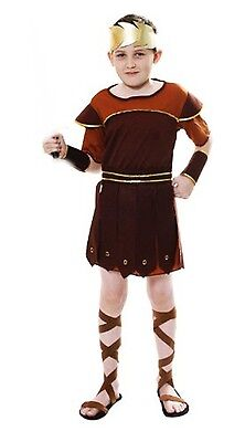Roman Soldier Fancy Dress Costume Outfit Dress Up Set Boys Book Day Theme Day ()