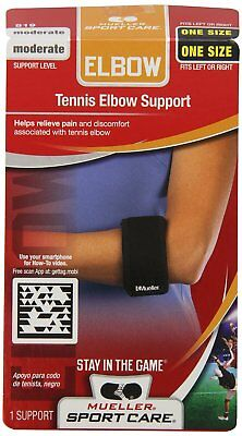 Mueller Sports Medicine Tennis Golf Elbow Forearm Support Brace Strap Durable