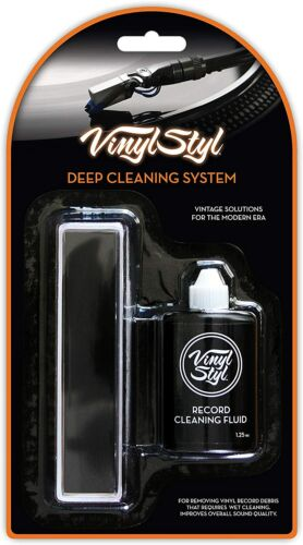 Vinyl Styl 72331 Record Cleaning System with Fluid [Deep Cleaning System]