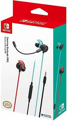 New Nintendo Gaming Earbuds Pro with Mixer by HORI for Nintendo Switch
