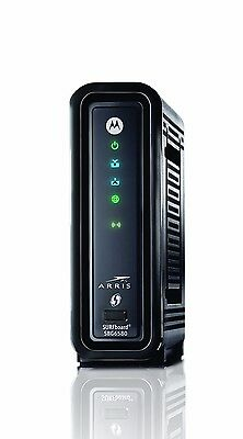Motorola Sbg6580 Docsis 3 Wireless Modem Comcast  Xfinity  Twc 6 Month Warranty