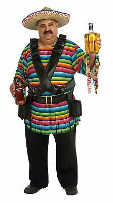 Tequila Sunrise Mexican Fiesta Cinco Mayo Fancy Dress Halloween Adult (Rubies Mexican Costume)