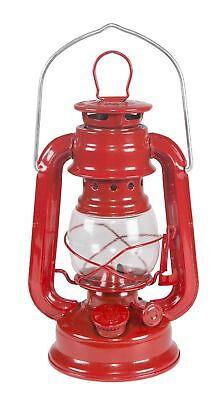 Small Red Hurricane Kerosene Lantern Oil Lamp Camp Emergency Power Outage Light