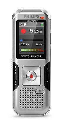 Philips DVT4000 Digital Voice Tracer Conversation Recording Voice Recorder OPEN