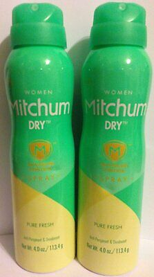 Mitchum Dry Women Pure Fresh Advanced Control Spray Anti-Per