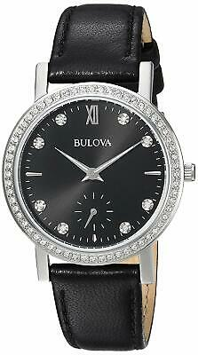 BULOVA SWAROVSKI'S CRYSTALS WOMEN'S WATCH BRAND NEW 96L246