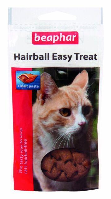 BEAPHAR CAT HAIRBALL EASY TREAT cat kittens long hair breeds 35g