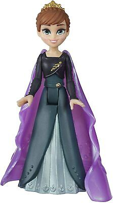 Disney Frozen 2 Queen Anna Small Doll with Removable Cape Kids Gitft Toy New